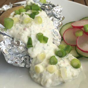 Gemüse-Quark