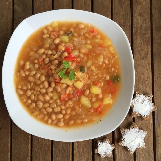Sauerkraut Suppe Bohnen (1)