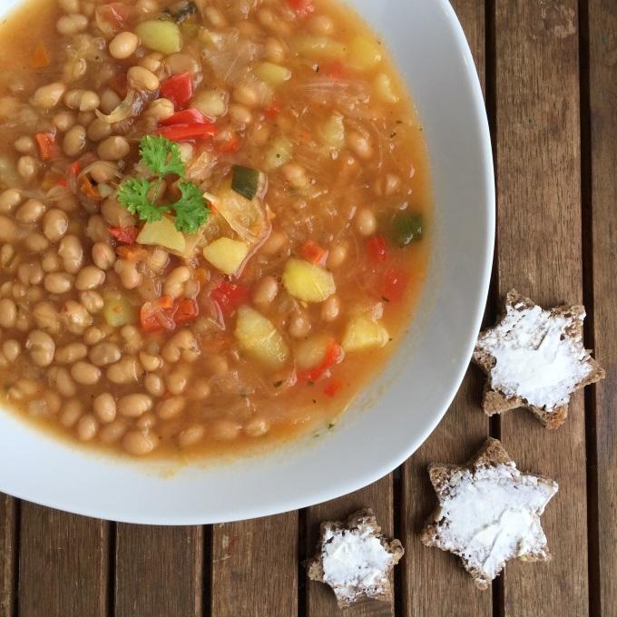 Sauerkraut Suppe Bohnen (2)