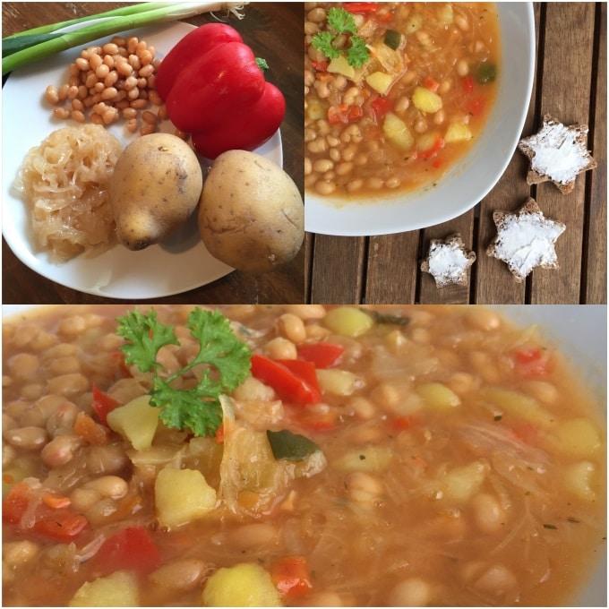 Sauerkraut Suppe Bohnen (6)