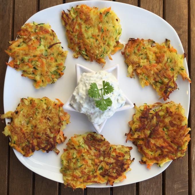 Kartoffel Gemüse Puffer (2)