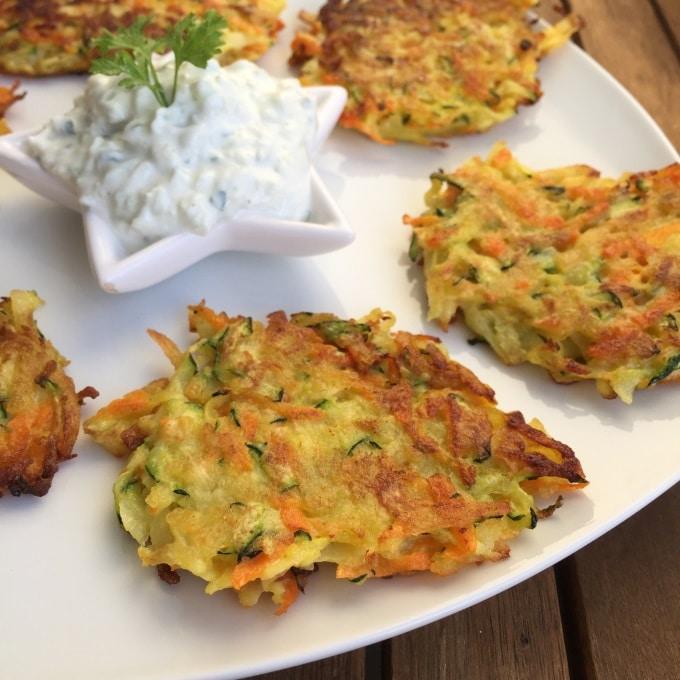 Kartoffel Gemüse Puffer