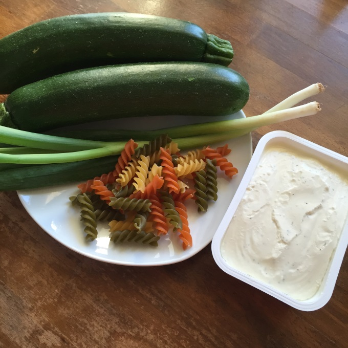 Pasta Zucchini Frischkäse (1)