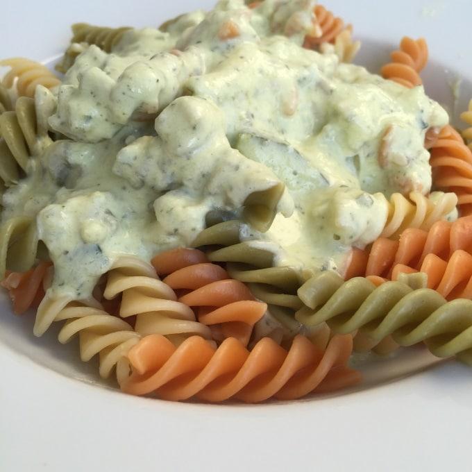 Pasta Zucchini Frischkäse (5)