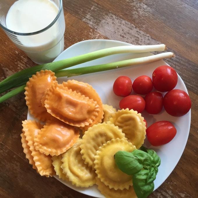 Ravioli Sahne Tomaten (2)