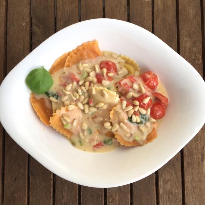 Ravioli Sahne Tomaten (4)