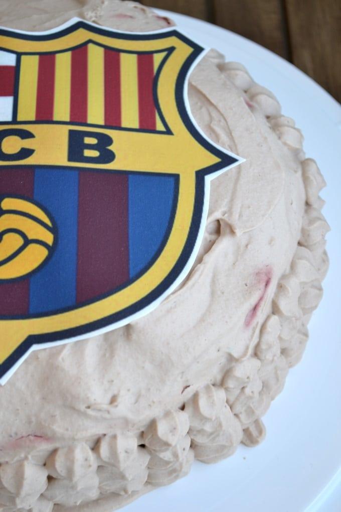Schokosahnetorte Barcelona Fussball (3)