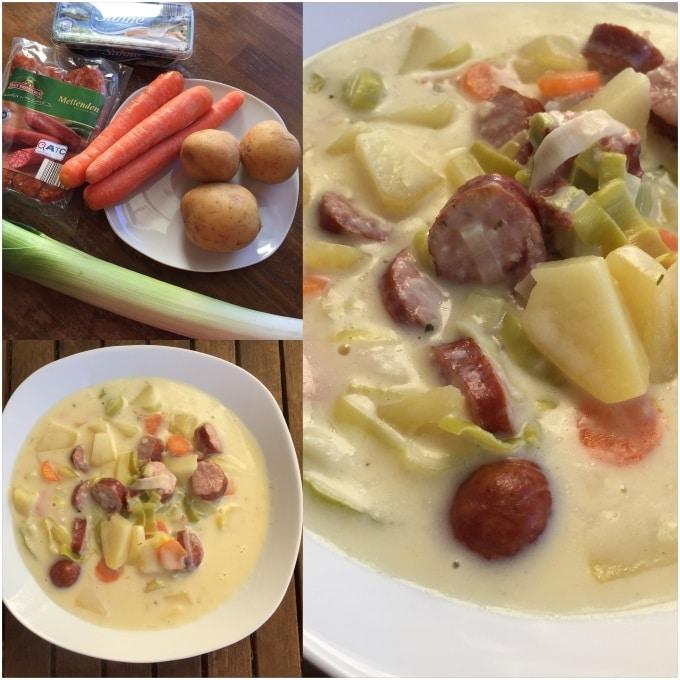 Suppe Zu Flüssig