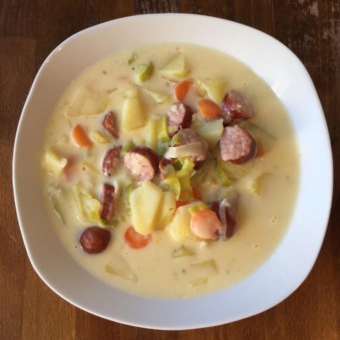 Käse Carbanossi Suppe (6)