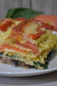 Regenbogen-Lasagne