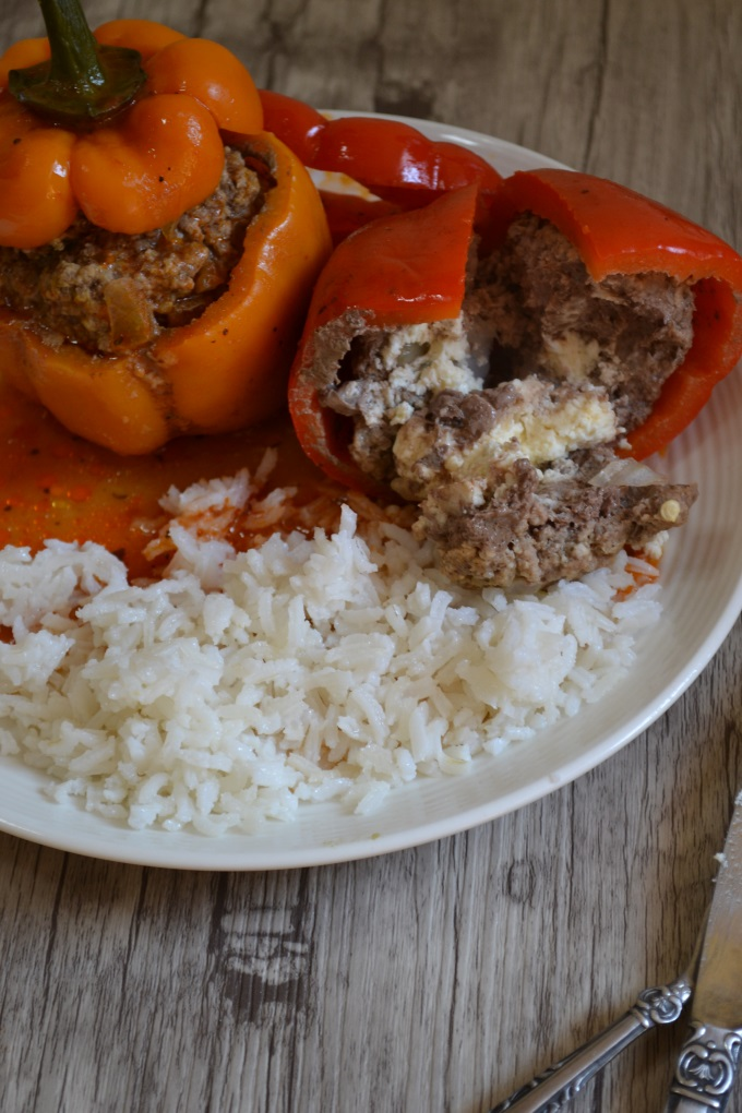 Paprika gefüllt Hackfleisch Feta (5)
