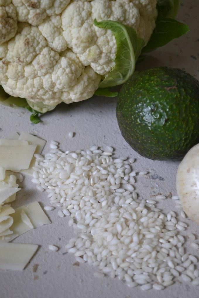 Blumenkohlrisotto mit Avocado (1)