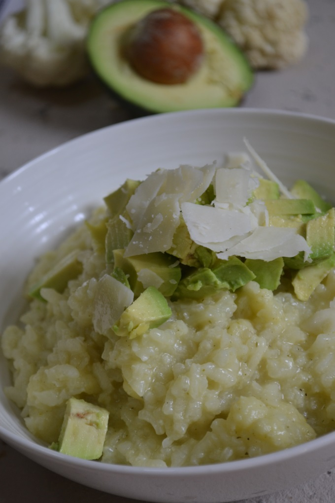 Blumenkohlrisotto mit Avocado (4)