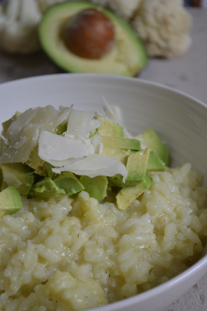 Blumenkohlrisotto mit Avocado (5)