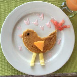 Pancake-Piepmatz
