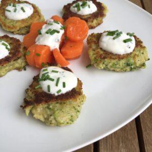Brokkoli-Couscous-Taler