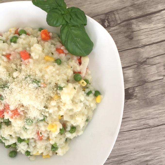 Buttergemüse risotto (3)