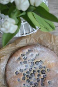 Milchmädchen-Heidelbeeren-Kuchen
