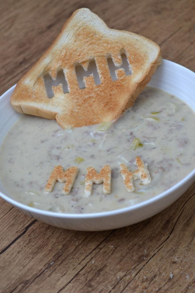 Frischkäse Lauch Suppe (2)