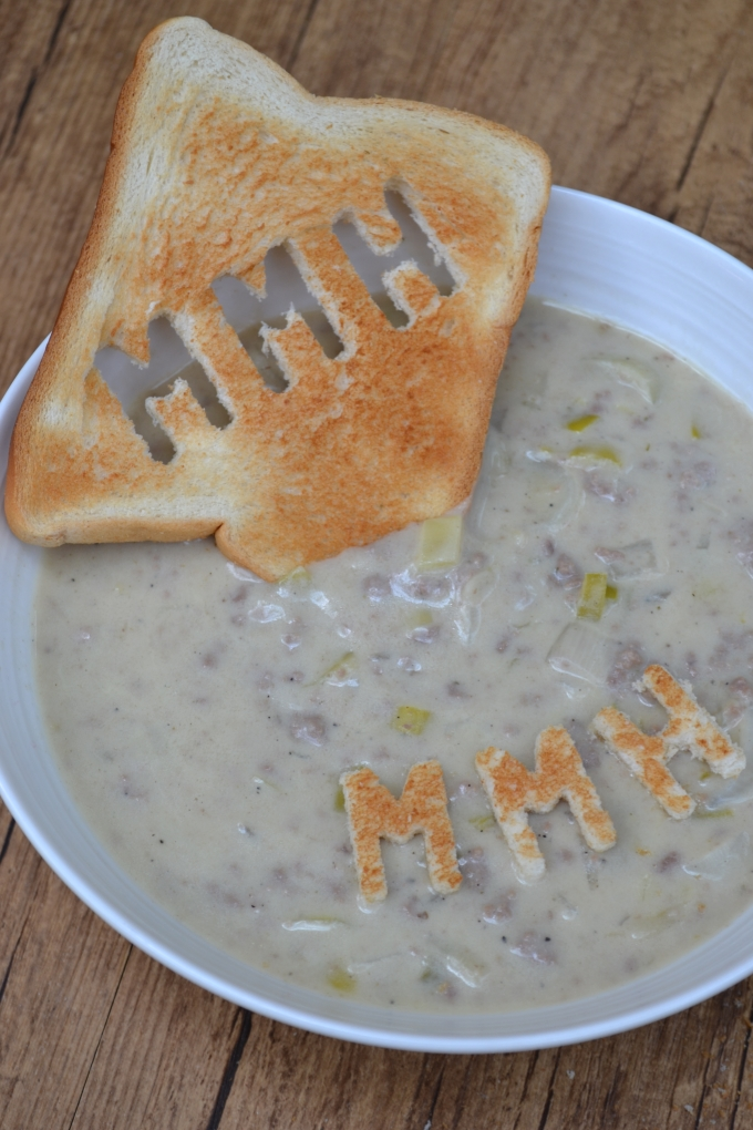 Frischkäse Lauch Suppe (3)