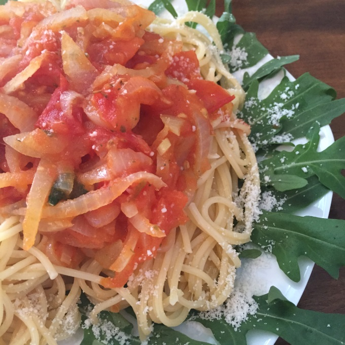 Pasta süße Tomatensauce (1)