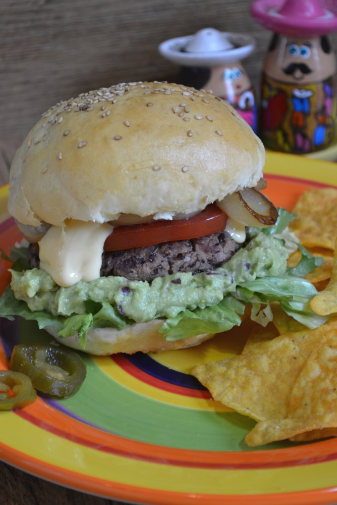 Veggie Burger mexikanisch (1)