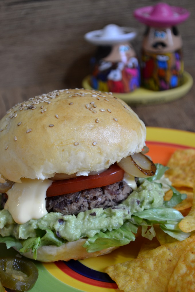 Veggie Burger mexikanisch (2)