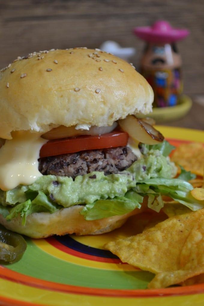 Veggie Burger mexikanisch (3)