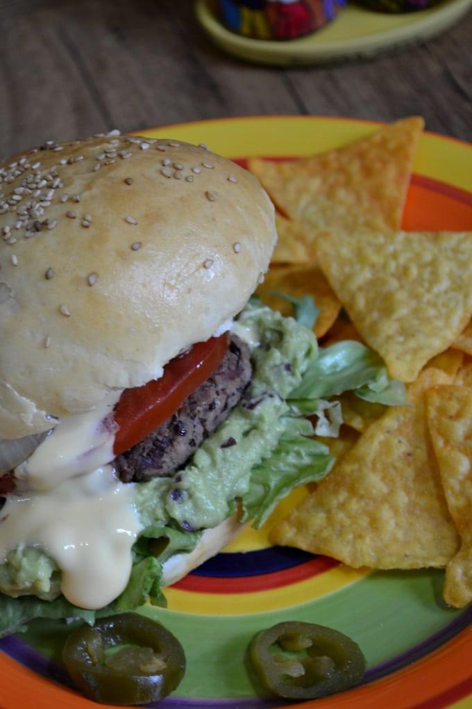 Veggie Burger mexikanisch (4)