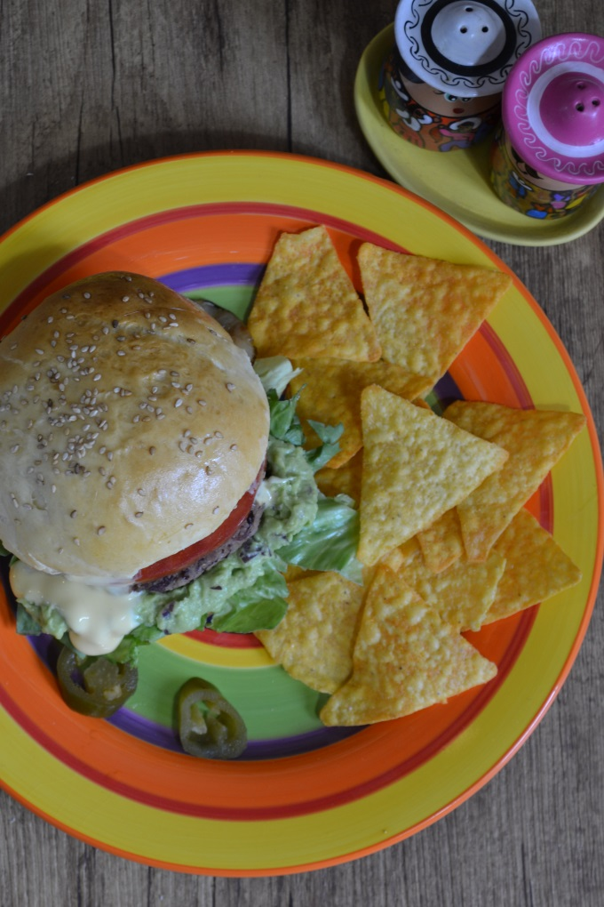 Veggie Burger mexikanisch (5)