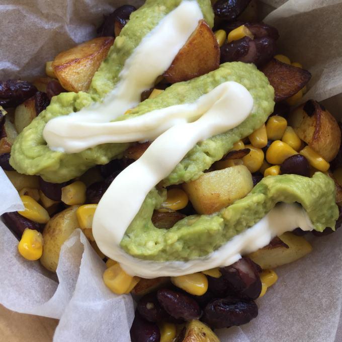 Mexikanische Kartoffelpfanne (3)
