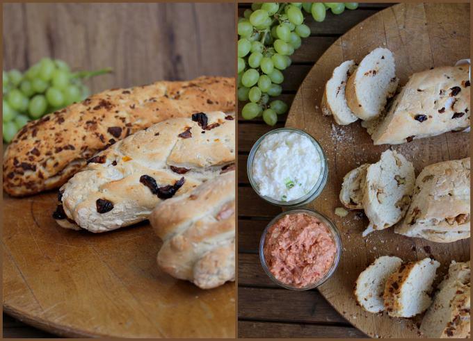 Dreierlei Baguette mit Feta Dip (1)