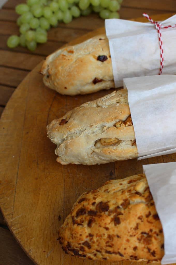 Dreierlei Baguette mit Feta Dip (8)