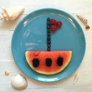 Melonen-Schiffchen