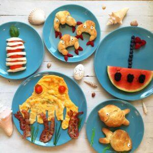 """Frühstücks- und Brunch-Ideen zum Motto """"Meer"""""""
