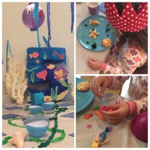 …feiern wir eine Meeres-Geburtstagsparty