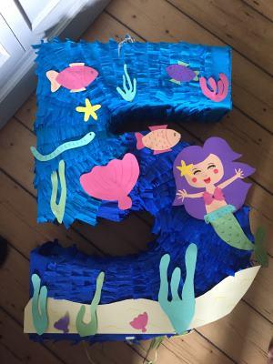 Pinata Meerjungfrau (7)