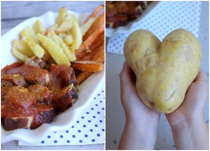 Zweierlei Pommes Currywurst (8)