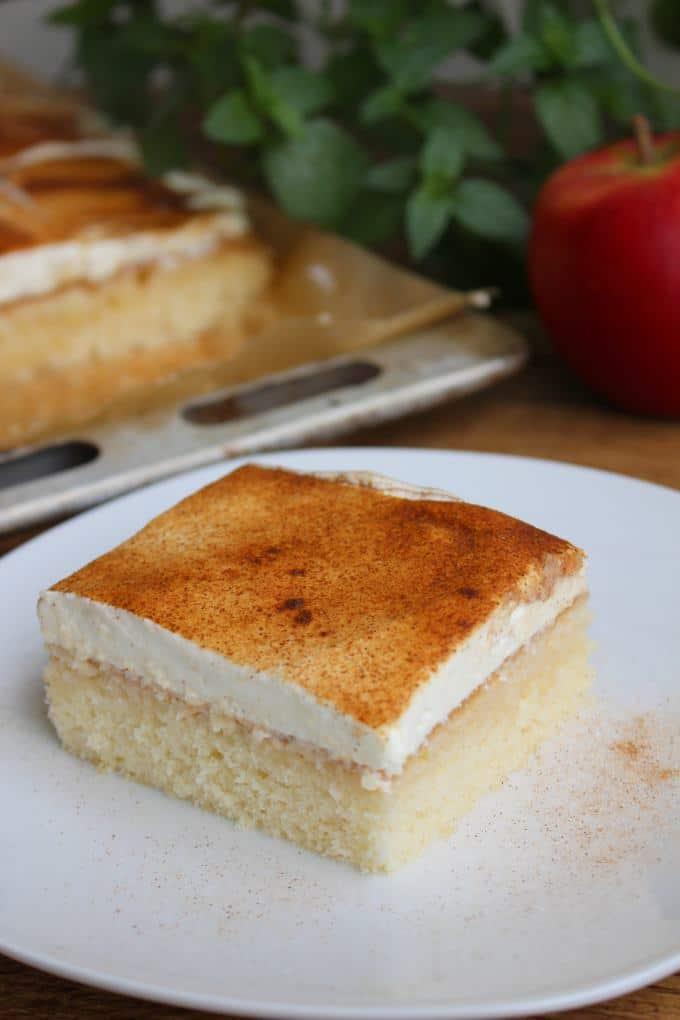Kuchen schmand apfelmus