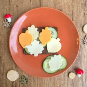 Käse-Blätter-Stulle