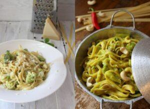 Gleicher Inhalt und doch anders: Zweierlei One-Pot-Pasta mit Tiefkühlgemüse (Werbung)