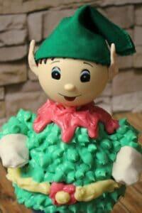 Buttercreme-Weihnachtself