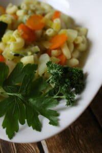 Gemüse-Nudel-Topf (Suppenmittwoch im Januar)