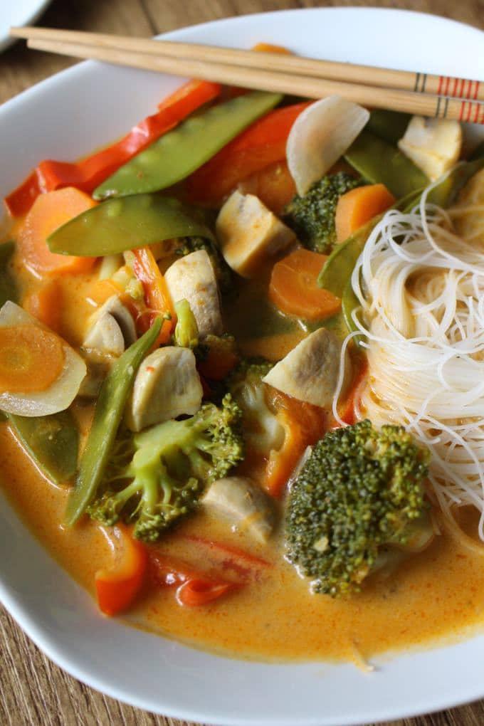 Thai Currysuppe