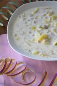 Käse-Lauch-Suppe (Suppenmittwoch im Februar)