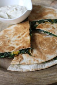 Spinat-Quesadillas