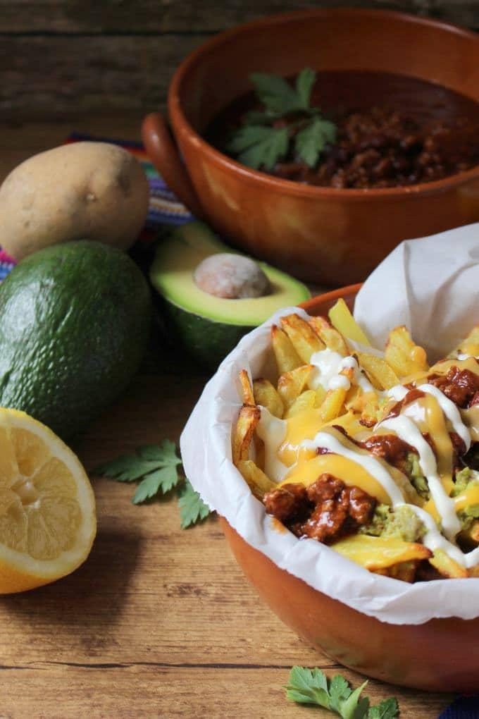 Die Kartoffel weltweit: Papas Fritas especiales (Werbung) - Kinder, kommt essen!