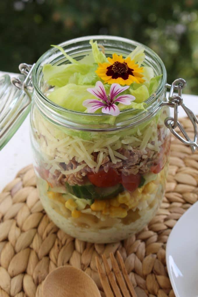 nudel thunfisch salat kinder kommt essen. Black Bedroom Furniture Sets. Home Design Ideas
