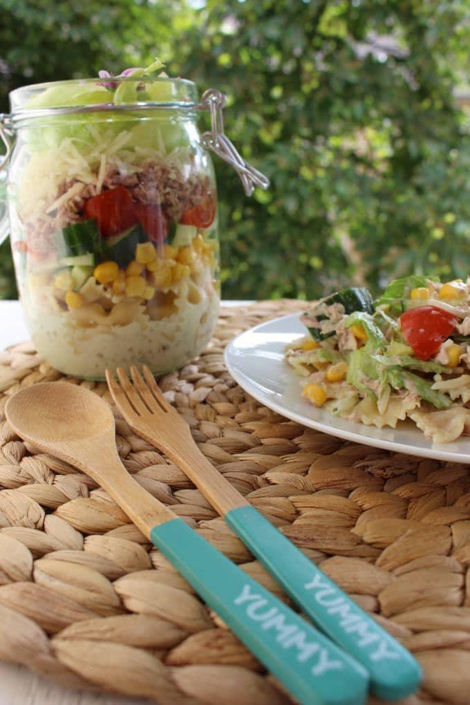 Thunfisch salat joghurt