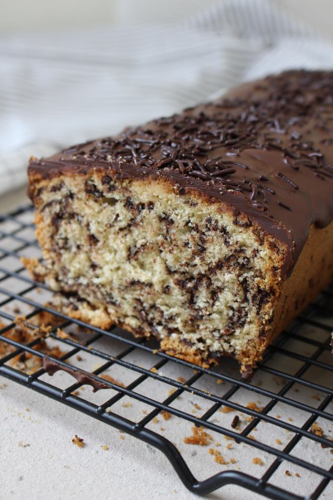 Kastenkuchen Mit Schokoladenstreuseln Kinder Kommt Essen